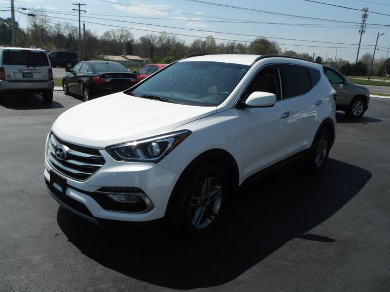 2017 Hyundai Santa Fe Sport for sale at Morelock Motors INC in Maryville TN