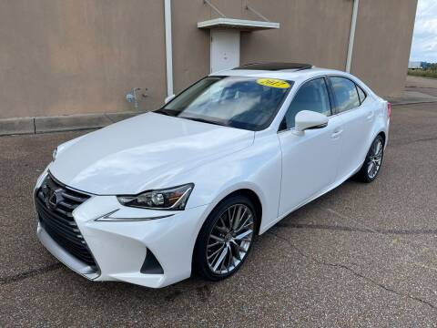 2017 Lexus IS 200t for sale at The Auto Toy Store in Robinsonville MS