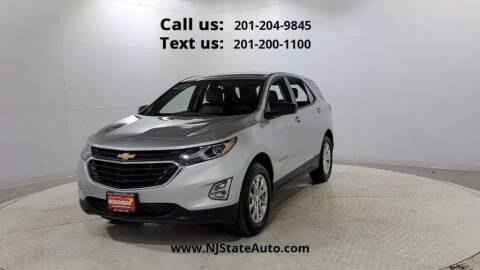 2019 Chevrolet Equinox for sale at NJ State Auto Used Cars in Jersey City NJ
