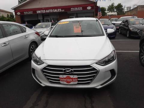 2017 Hyundai Elantra for sale at United Auto Sales of Newark in Newark NJ