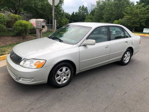 2001 Toyota Avalon for sale at Dreams Auto Sales LLC in Leesburg VA