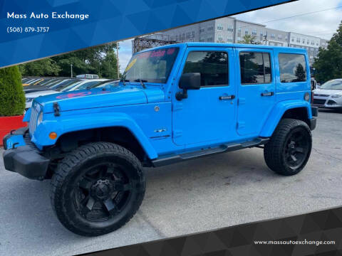 2018 Jeep Wrangler JK Unlimited for sale at Mass Auto Exchange in Framingham MA