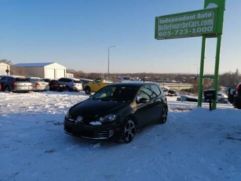 2010 Volkswagen GTI for sale at Independent Auto in Belle Fourche SD
