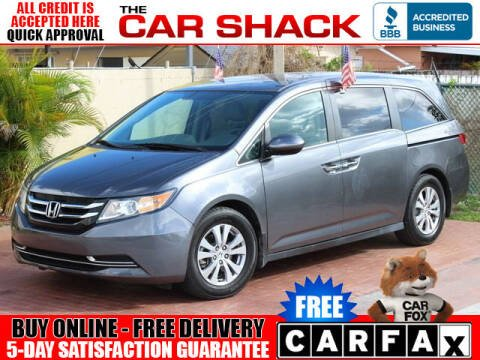 2016 Honda Odyssey for sale at The Car Shack in Hialeah FL