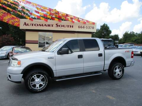 2007 Ford F-150 for sale at Automart South in Alabaster AL