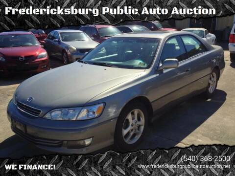 2001 Lexus ES 300 for sale at FPAA in Fredericksburg VA