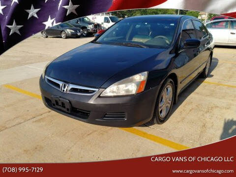2006 Honda Accord for sale at Cargo Vans of Chicago LLC in Mokena IL