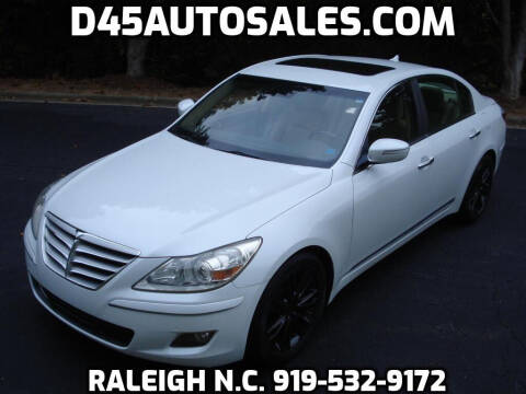 2010 Hyundai Genesis for sale at D45 Auto Brokers in Raleigh NC