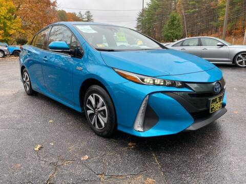 2017 Toyota Prius Prime for sale at Bladecki Auto in Belmont NH