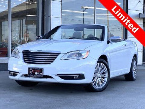 2011 Chrysler 200 Convertible for sale at Carmel Motors in Indianapolis IN