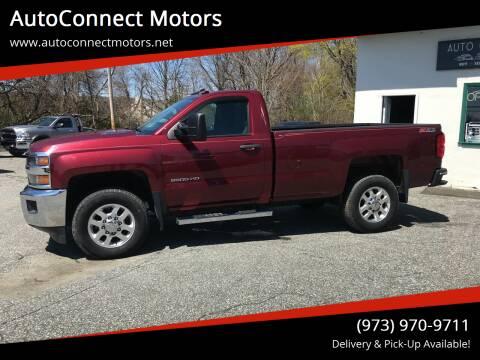 2015 Chevrolet Silverado 2500HD for sale at AutoConnect Motors in Kenvil NJ