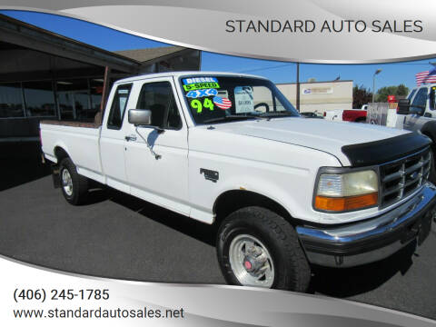 1994 Ford F-250 for sale at Standard Auto Sales in Billings MT
