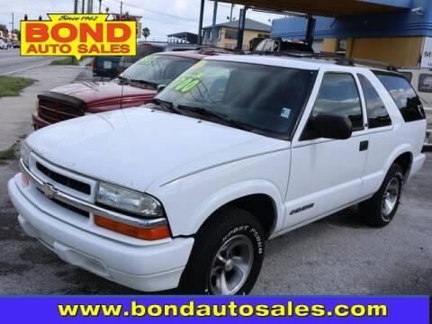 2002 Chevrolet Blazer for sale at Bond Auto Sales in St Petersburg FL