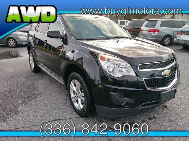 2012 Chevrolet Equinox for sale at GT Motors, LLC in Elkin NC