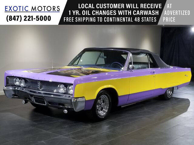 1967 Chrysler Newport for sale in Rolling Meadows, IL