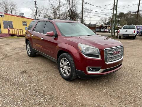 2015 GMC Acadia for sale at RODRIGUEZ MOTORS CO. in Houston TX