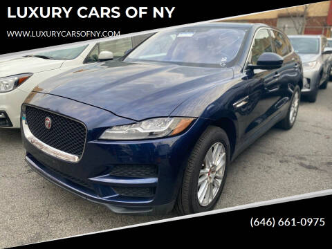 2017 Jaguar F-PACE for sale at LUXURY CARS OF NY in Queens NY