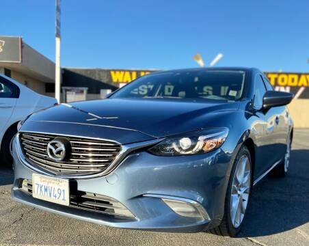 2016 Mazda MAZDA6 for sale at Global Auto Group in Fontana CA