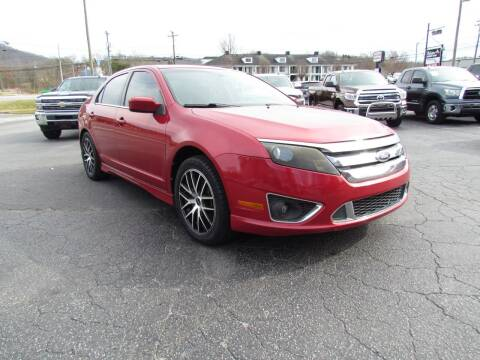 2010 Ford Fusion for sale at Hibriten Auto Mart in Lenoir NC