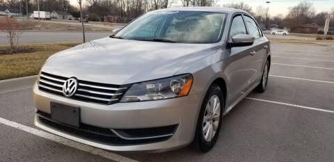 2013 Volkswagen Passat for sale at Derby City Automotive in Louisville KY
