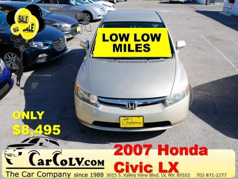 2007 Honda Civic for sale at The Car Company in Las Vegas NV