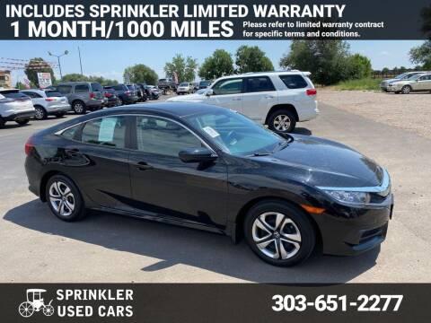 2018 Honda Civic for sale at Sprinkler Used Cars in Longmont CO