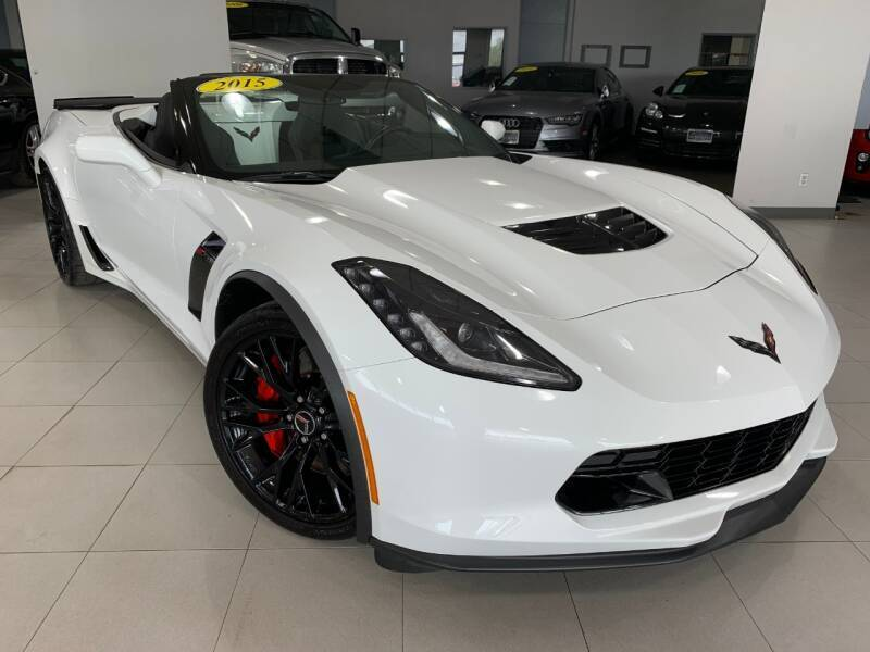 2015 Chevrolet Corvette for sale at Auto Mall of Springfield in Springfield IL
