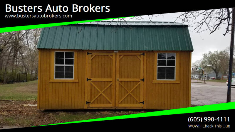 2021 Old Hickory Building 10 X 16 Side Lofted Building for sale at Busters Auto Brokers in Mitchell SD
