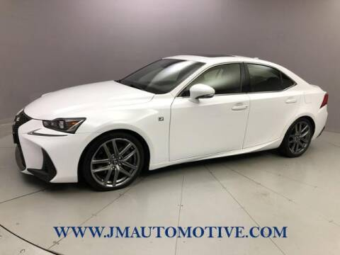 2018 Lexus IS 300 for sale at J & M Automotive in Naugatuck CT