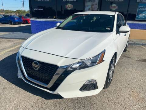 2019 Nissan Altima for sale at Cow Boys Auto Sales LLC in Garland TX