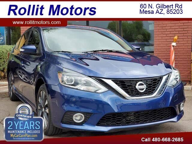 2017 Nissan Sentra for sale at Rollit Motors in Mesa AZ