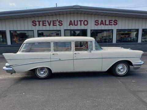 1957 Chevrolet 210 for sale at STEVE'S AUTO SALES INC - Regular Inventory in Scottsbluff NE