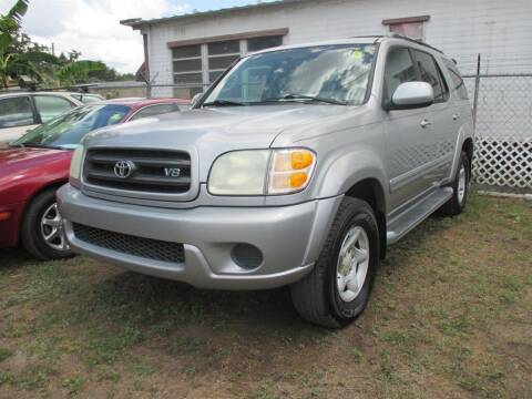 2002 Toyota Sequoia for sale at New Gen Motors in Bartow FL