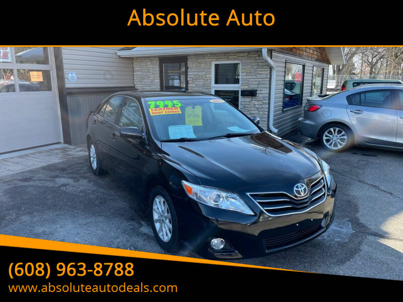 2011 Toyota Camry for sale at Absolute Auto in Baraboo WI