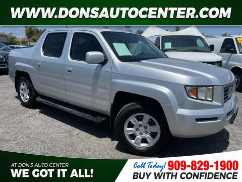 2006 Honda Ridgeline for sale at Dons Auto Center in Fontana CA