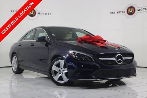 2017 Mercedes-Benz CLA for sale at INDY'S UNLIMITED MOTORS - UNLIMITED MOTORS in Westfield IN