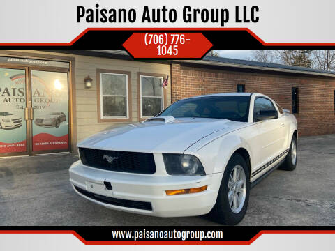 2006 Ford Mustang for sale at Paisano Auto Group LLC in Cornelia GA