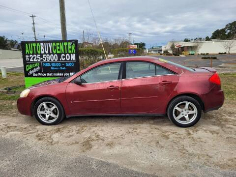 2009 Pontiac G6 for sale at AutoBuyCenter.com in Summerville SC