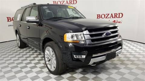 2016 Ford Expedition EL for sale at BOZARD FORD in Saint Augustine FL