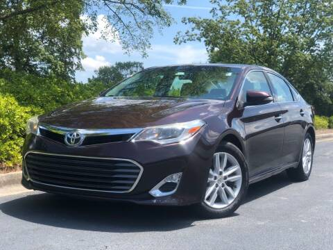 2013 Toyota Avalon for sale at William D Auto Sales in Norcross GA