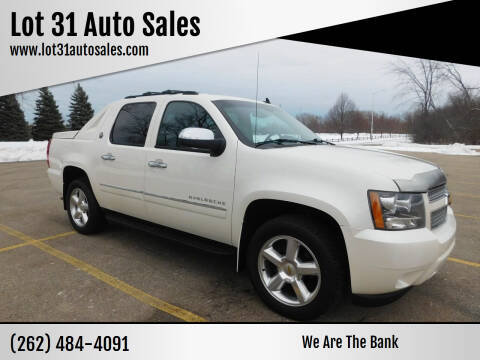 2013 Chevrolet Avalanche for sale at Lot 31 Auto Sales in Kenosha WI