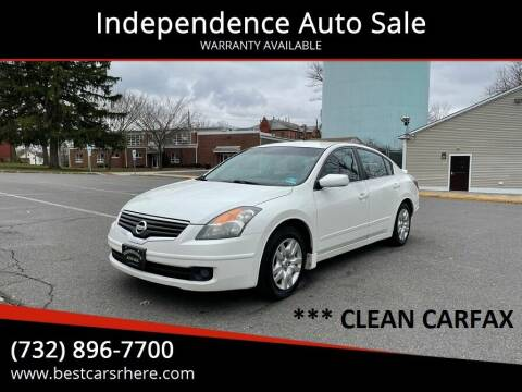 2009 Nissan Altima for sale at Independence Auto Sale in Bordentown NJ