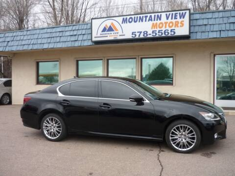 2013 Lexus GS 350 for sale at Mountain View Motors Inc in Colorado Springs CO