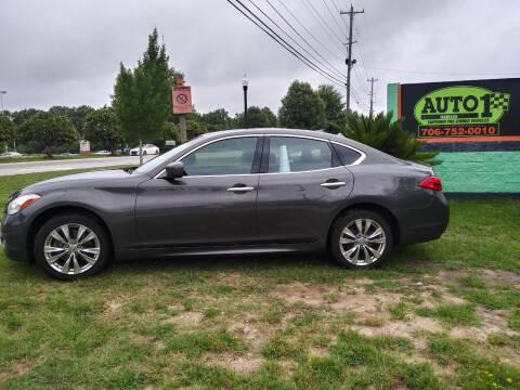 2012 Infiniti M37 for sale at Auto 1 Madison in Madison GA