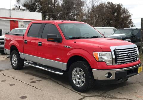 2012 Ford F-150 for sale at Central City Auto West in Lewistown MT