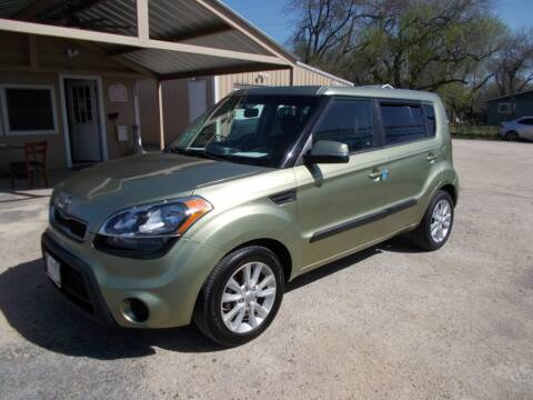2012 Kia Soul for sale at DISCOUNT AUTOS in Cibolo TX