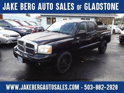 2006 Dodge Dakota for sale at Jake Berg Auto Sales in Gladstone OR