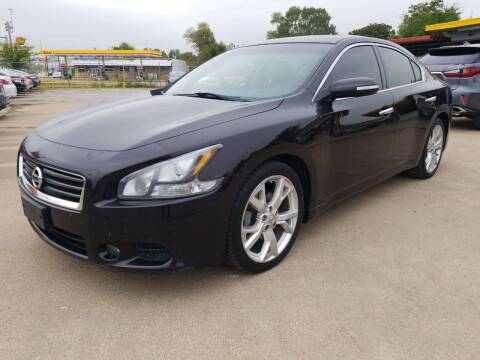 2012 Nissan Maxima for sale at Nile Auto in Fort Worth TX