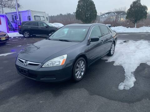 2007 Honda Accord for sale at Lux Car Sales in South Easton MA