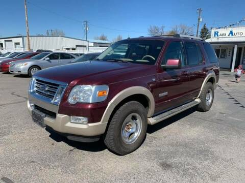 2007 Ford Explorer for sale at RABI AUTO SALES LLC in Garden City ID